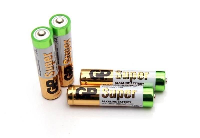 Bateria AAA 1,5V GP Super Alkaline